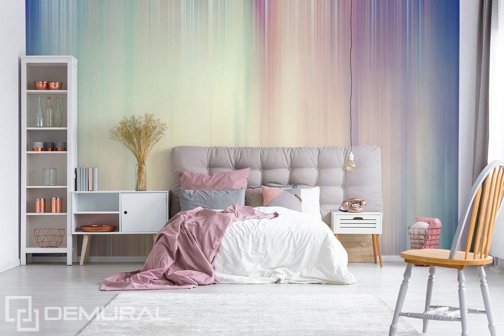 Fototapete - Vergänglichkeit des Moments - Pastellfarbene Fototapete - Demural