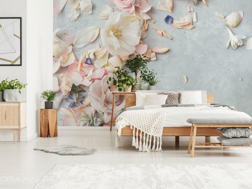 Blumen Fototapete - Demural