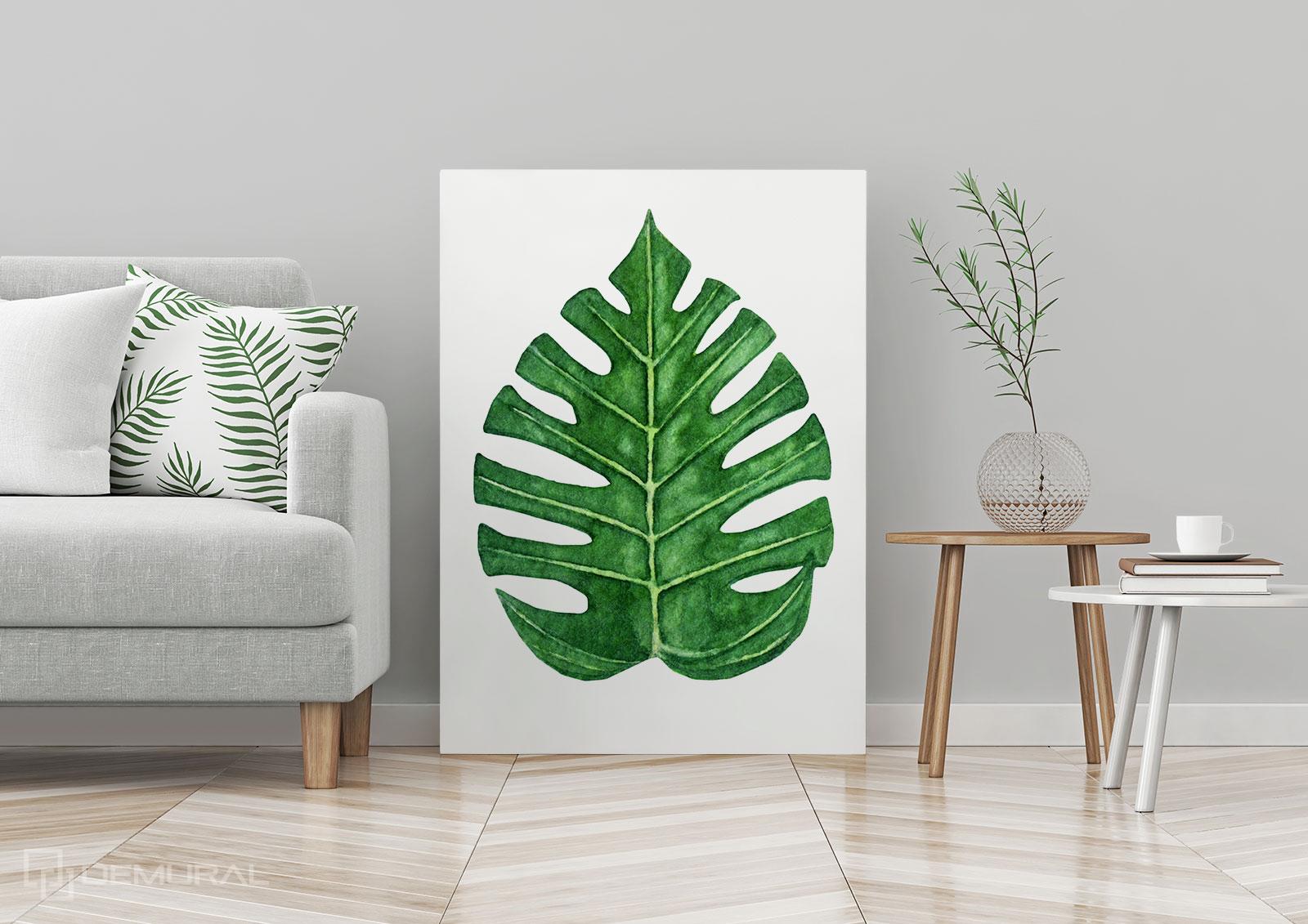 Bilder tropisches Blatt - tropischen Blätter -Demural