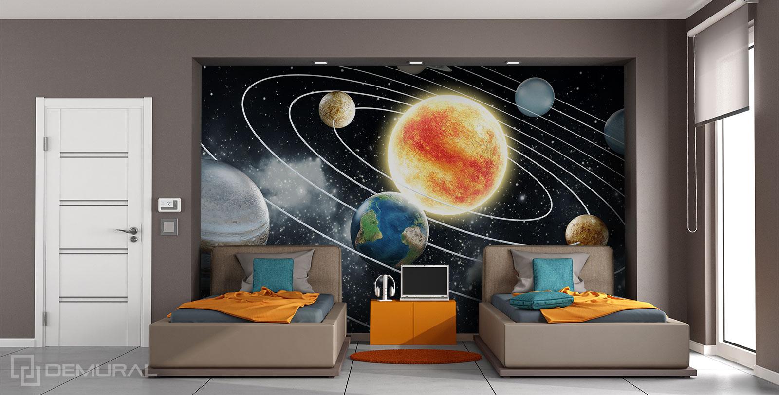 Photo wallaper Private Galaxy - Photo wallpaper cosmos - Demural