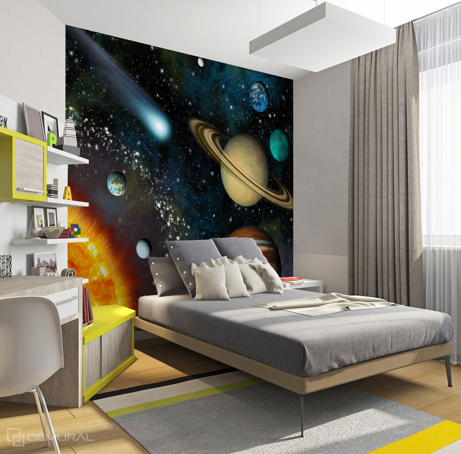 Photo wallpaper Cosmic view - Photo wallpaper cosmos - Demural