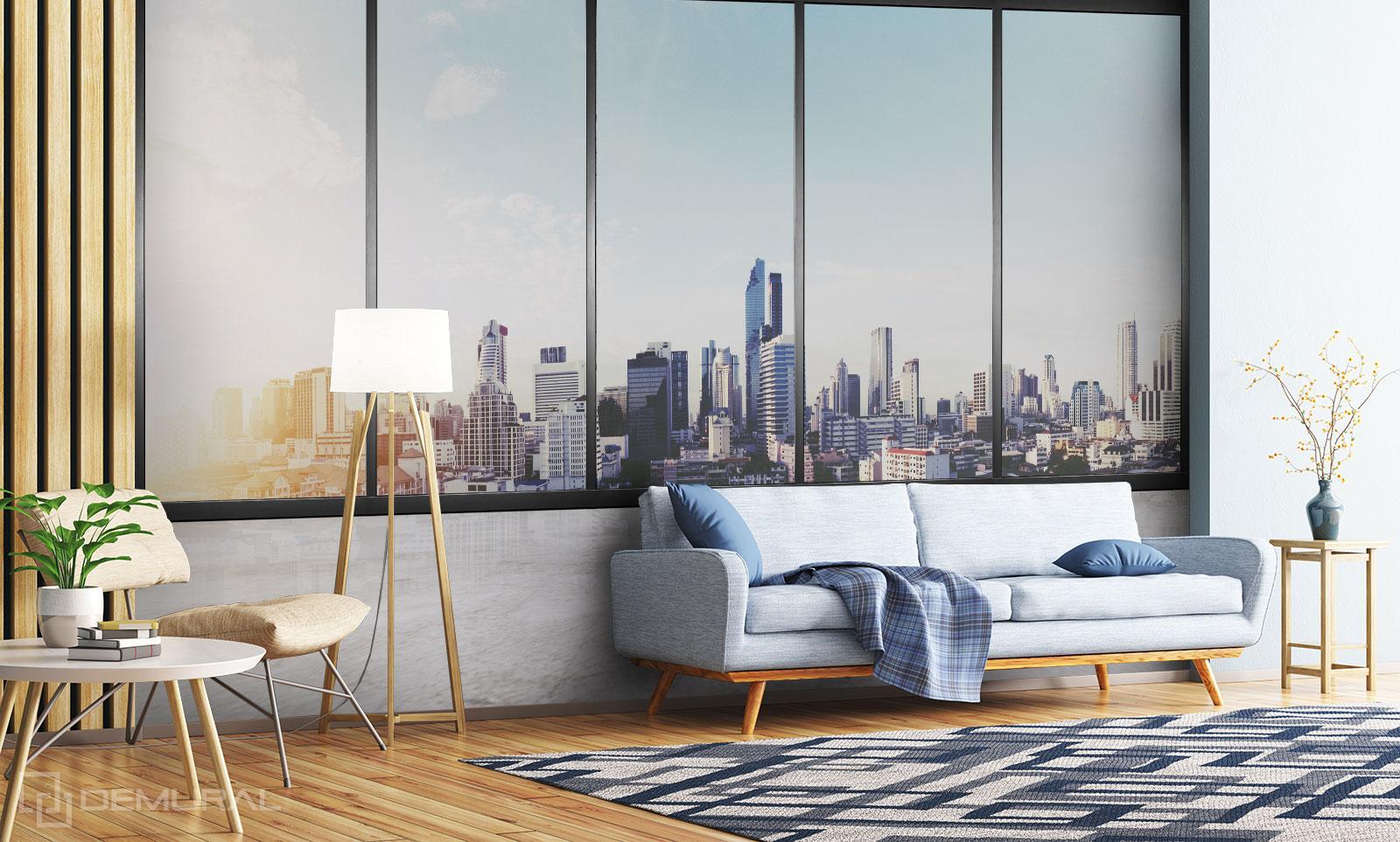 Fototapete Fenster zur Welt - Fototapete fenster - Demural