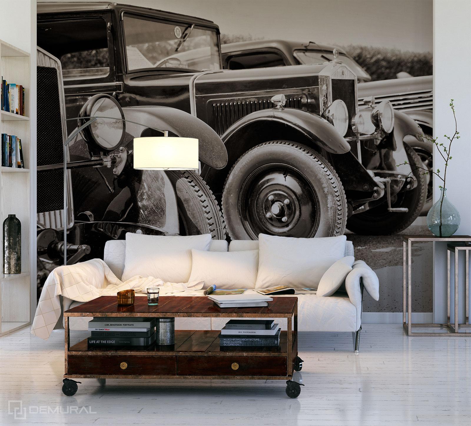 Fototapete Antike autos - Fototapete mit Auto - Demural