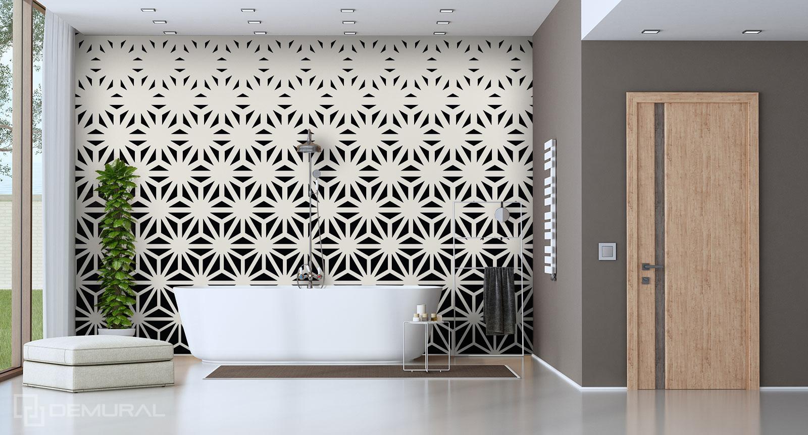 Fototapete Geometrie - Fototapete im Badezimmer - Demural