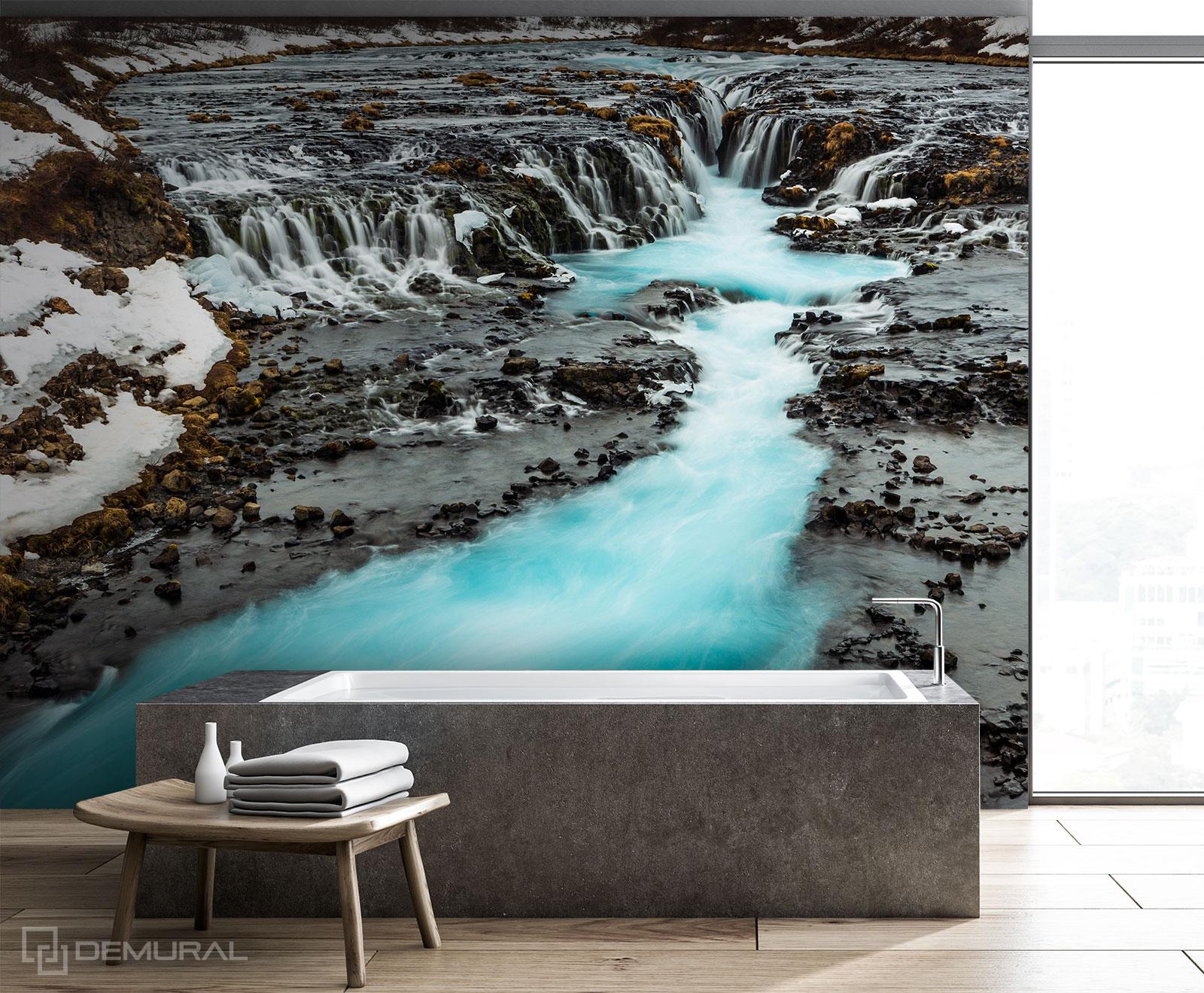 Fototapete Rohe Schönheit - Fototapete im Badezimmer - Demural