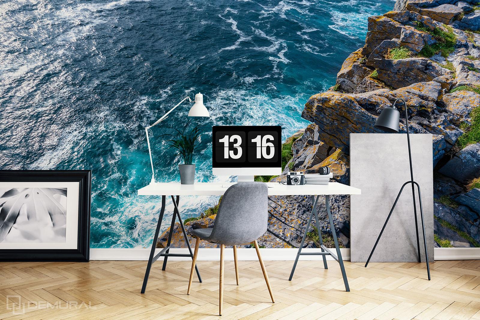 Fototapete Meeresklippen - Fototapete mit dem Meer für Büro - Demural