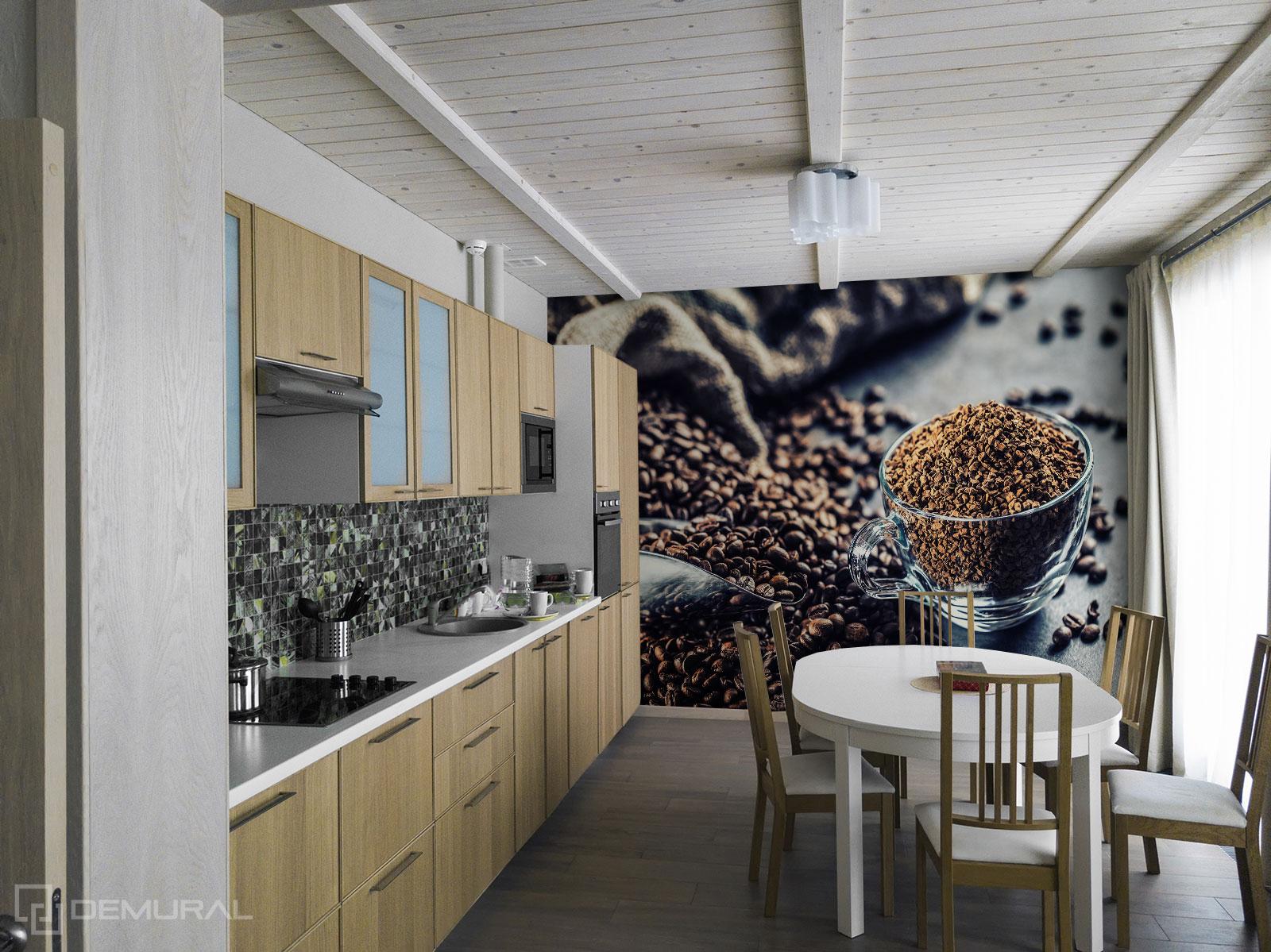 Fototapete Aroma des Kaffees - Fototapete für große Küche - Demural