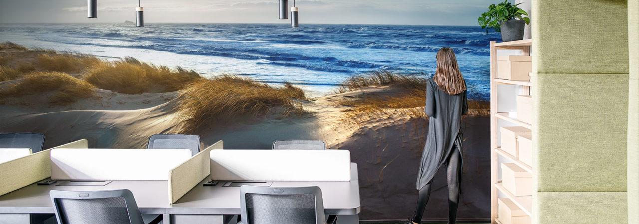 Fototapete mit dem Meer für Büro - Demural