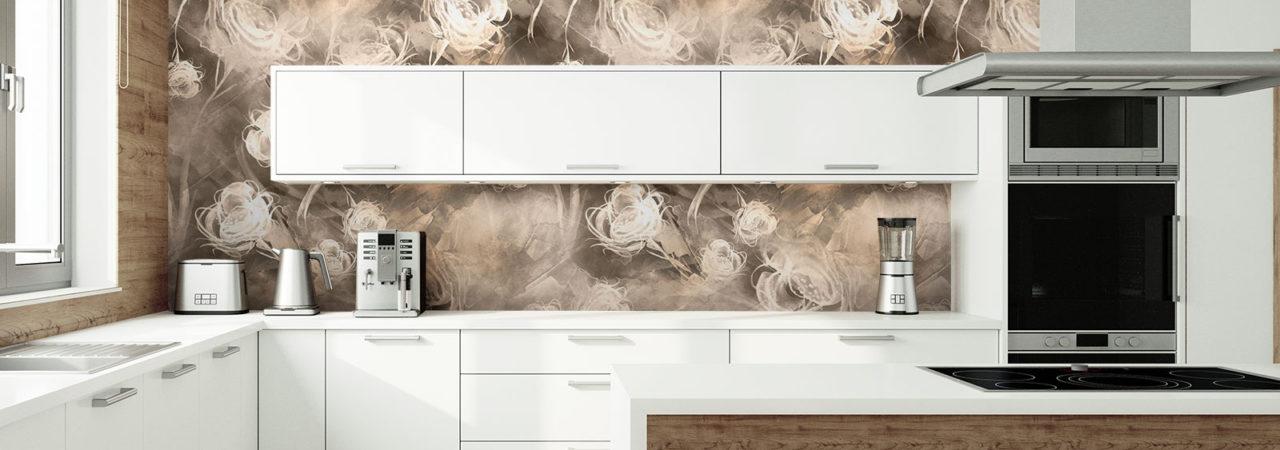 Fototapeten für große Küche - Demural
