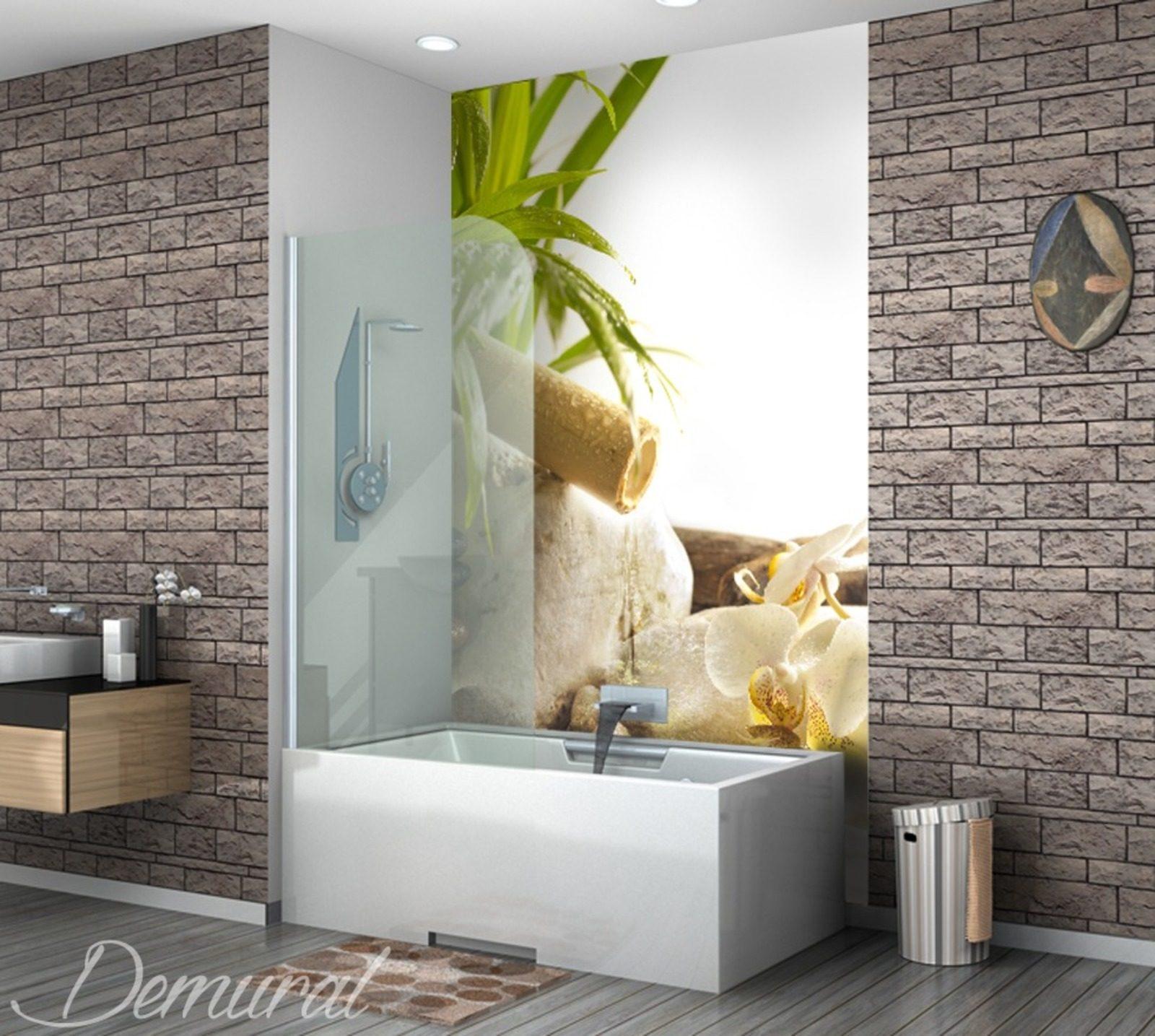 spa bei brennen der schlechten emotionen fototapeten f r badezimmer fototapeten demural. Black Bedroom Furniture Sets. Home Design Ideas