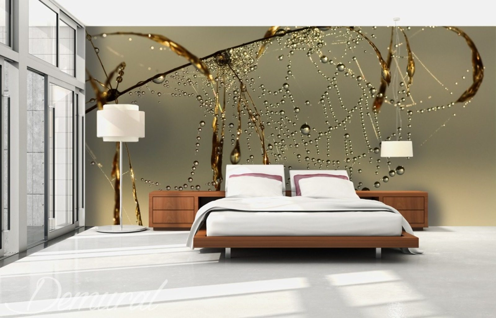 im netz des traumes fototapete f r schlafzimmer fototapeten demural. Black Bedroom Furniture Sets. Home Design Ideas