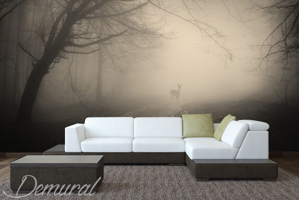 hirschj ger fototapete f rs wohnzimmer fototapeten demural. Black Bedroom Furniture Sets. Home Design Ideas