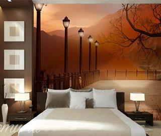 Fototapete f r schlafzimmer demural for Fototapete fur dachschrage