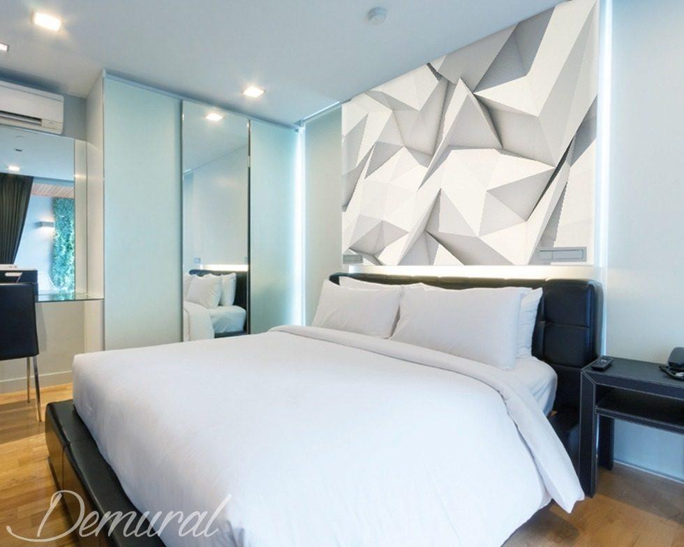 schlafzimmer origami fototapete f r schlafzimmer. Black Bedroom Furniture Sets. Home Design Ideas