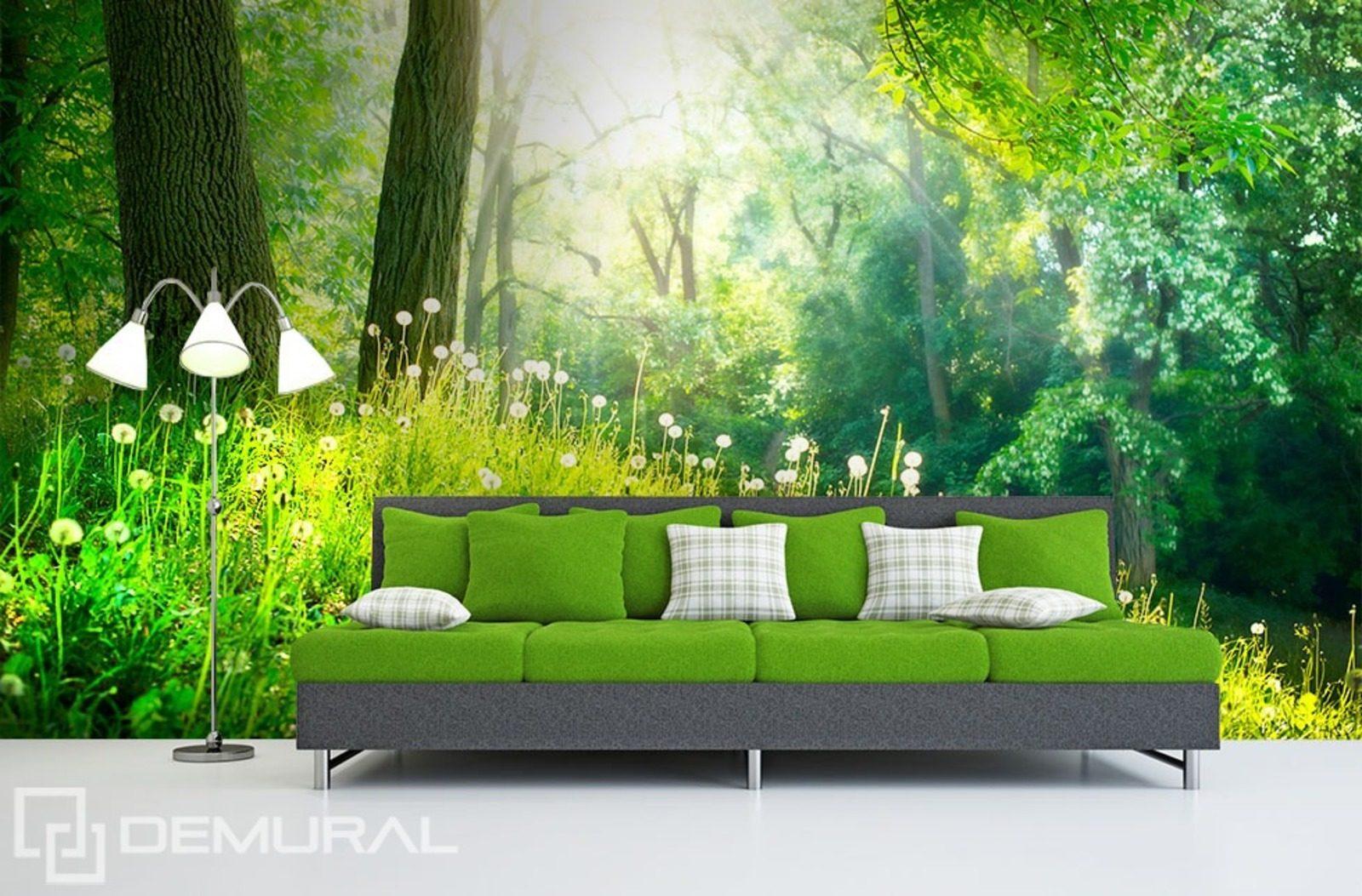 in den gr nen gro en w ldern fototapeten wald. Black Bedroom Furniture Sets. Home Design Ideas