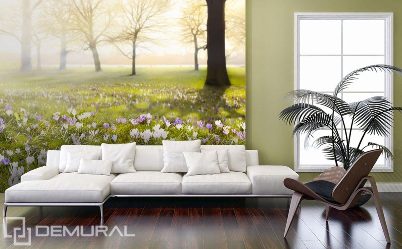 wohnzimmer lila mit fototapete ~ surfinser.com