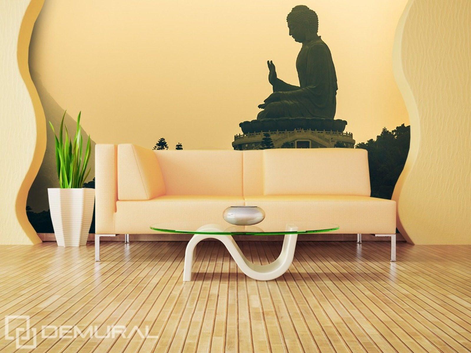 Fototapete Wohnzimmer Motiv : Fototapete Vlies Buddha -Tapete Tapeten ...