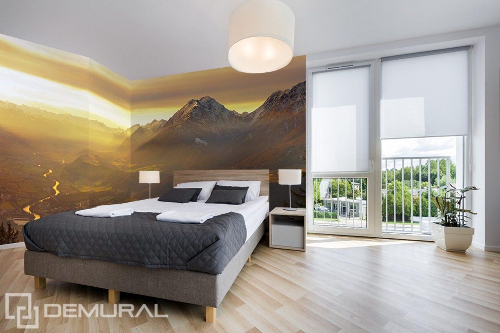 Am Tal - Fototapete für Schlafzimmer - Fototapeten - Demural