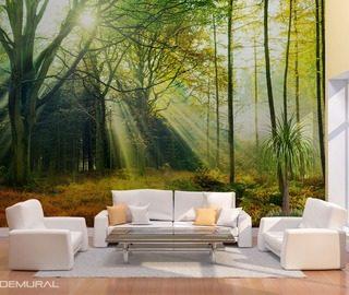 fototapeten wald demural. Black Bedroom Furniture Sets. Home Design Ideas