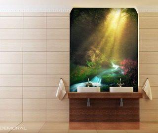 Fototapeten für Badezimmer – Demur