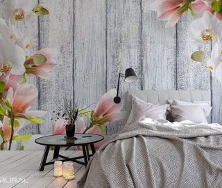 fototapeten blumen demural. Black Bedroom Furniture Sets. Home Design Ideas