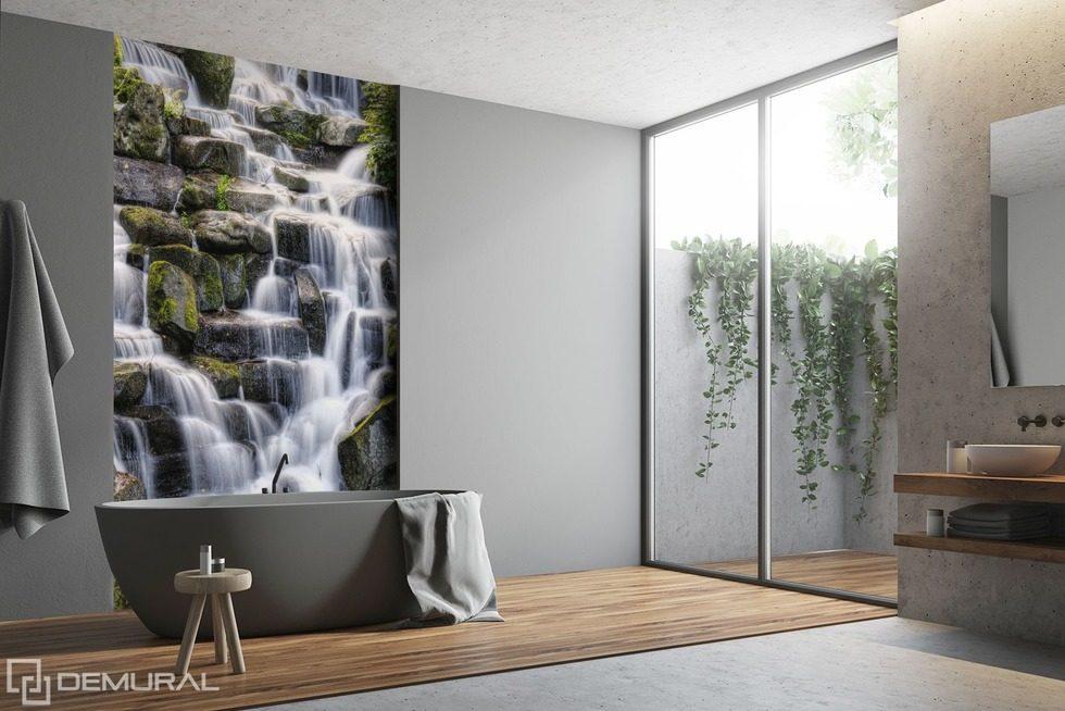Die feine aquatische Linderung - Fototapeten für Badezimmer ...